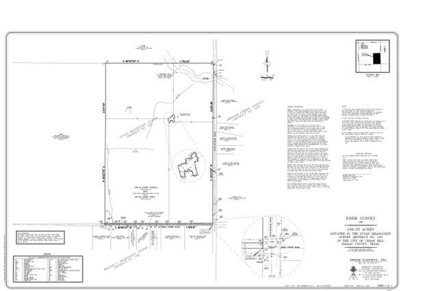 Cedar Hill Land For Sale - $3,700,000